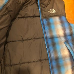 North Face Quilted Vest Size Boys 7/8